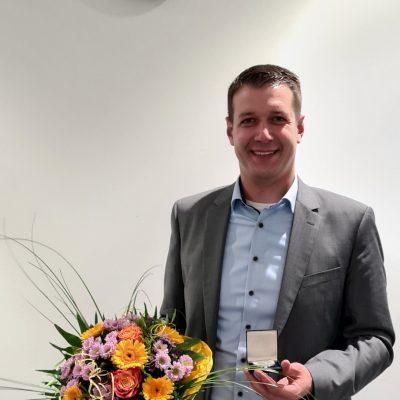 Tobias Pötzsch nach seiner Wahl zum zweiten stellvertretenden Bürgermeister der Stadt Meckenheim